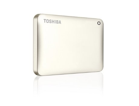 "Disco Externo 2.5"" Toshiba Canvio Connect II 2TB USB 3.0 Dourado"