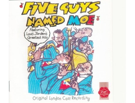 CD Five Guys Named Moe - Featuring Louis Jordan's Greatest Hits