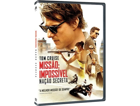 DVD Missão Impossivel: Nação Secreta — De: Christopher McQuarrie | Com: Tom Cruise
