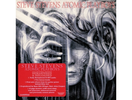 CD Steve Stevens - Atomic Playboys