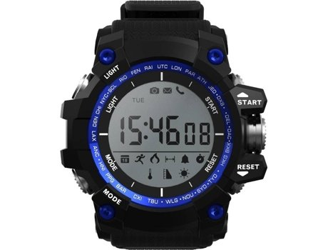 Smartwatch NO.1 F2 Azul — 550 mAH