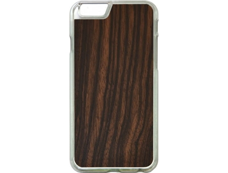 Capa G-CODE Simple Woods Ébano iPhone 7, 8 Castanho — Compatibilidade: iPhone 7, 8