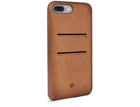 Capa TWELVE SOUTH Relaxed Pockets Cognac iPhone 7 Plus, 8 Plus Castanho — Compatibilidade: iPhone 7 Plus, 8 Plus