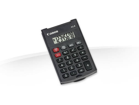 Calculadora CANON AS-8 HB EMEA — Calculadora | Básica