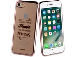 Capa WORDS Magia iPhone 7, 8 Rosa — Compatibilidade: iPhone 7, 8