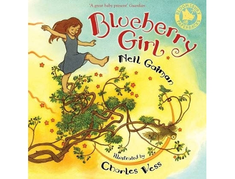 Marca do fabricante - Livro Blueberry Girl de Neil Gaiman