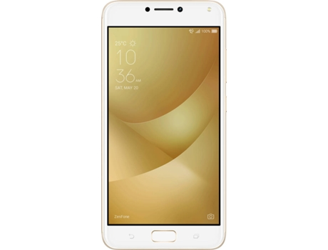 "Smartphone ASUS Zenfone 4 32GB Max Sunlight Gold — Android 7.0 / 5.5"" / Qualcomm Snapdragon 430 1.4 GHz"