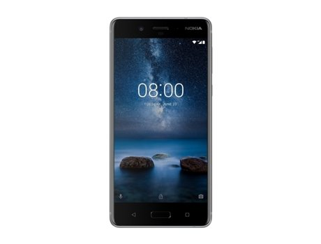 "Smartphone NOKIA 8 64GB Steel — Android 7.0 / 5.3"" / Octa-core 2.5 GHz / 4GB RAM / Dual SIM"