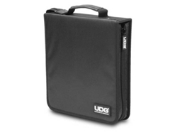 Estojo CDs/LPs UDG Ultimate CD 128 Preto — Estojo | Nylon | Preto