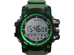 Smartwatch NO.1 F2 Verde — Bluetooth | 550 mAh | Android e iOS