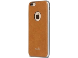 Capa MOSHI iGlaze Napa iPhone 6 Plus, 6s Plus Castanho — Compatibilidade: iPhone 6 Plus, 6s Plus