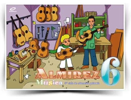 Livro Musica Almirez 6O.Prim de Vários Autores