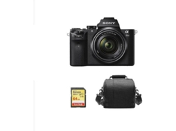 Kit Máquina Fotográfica Mirrorless SONY A7S II + SEL 28-70MM F3.5-5.6 OSS + 64GB SD + Bolsa