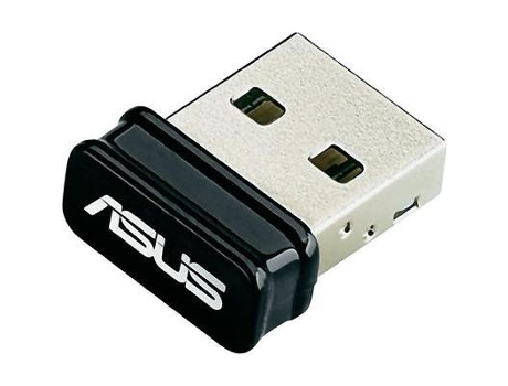 Adaptador USB Wi-Fi ASUS USB N10 Nano — USB 2.0 | Single Band | 150 Mbps
