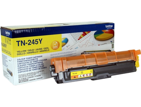 Toner BROTHER TN245 Amarelo — Amarelo
