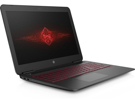 Portátil Gaming 15.6'' HP OMEN 15-AX203NP — Intel Core i7-7700HQ / 16 GB / 2 TB  +  128 GB