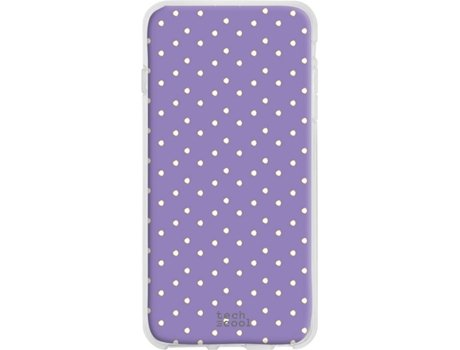 Capa Wiko Harry 2 TECHCOOL Lunares Roxo