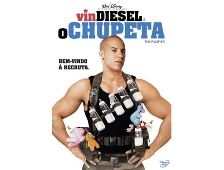DVD O Chupeta — De: Adam Shankman | Com: Vin Diesel,Lauren Graham,Faith Ford,Brittany Snow,Max Thieriot