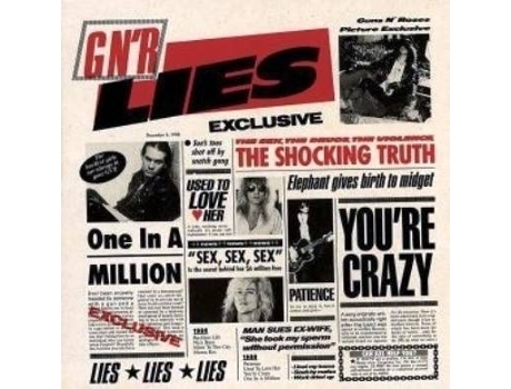 CD Guns n' Roses - Lies — Pop-Rock