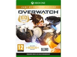 Jogo Xbox One Overwatch (Game Of The Year Edition) — FPS / Idade mínima recomendada: 12