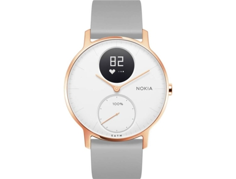 Withings - Steel HR (36mm-rose gold/grey silicone)