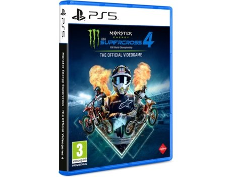 Jogo PS5 Monster Energy Supercross The Official Videogame 4