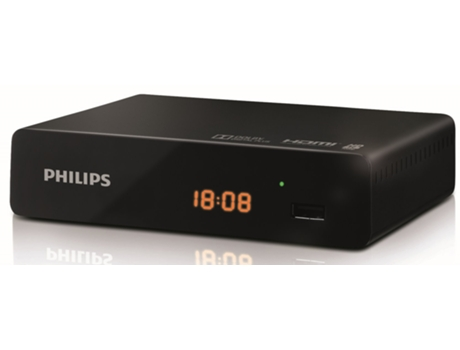 Recetor TDT PHILIPS DTR-3000 DVB-T2 — MPEG4