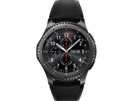 Smartwatch SAMSUNG Gear S3 Frontier Preto — Bluetooth, Wi-Fi e NFC | 380 mAh | Android