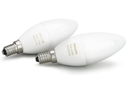 Lâmpada PHILIPS HUE B39 E14 Kit  Branco e Cor — Smart Lighting | E14