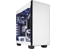 Caixa PC CORSAIR Carbide Clear 400C Branco — ATX