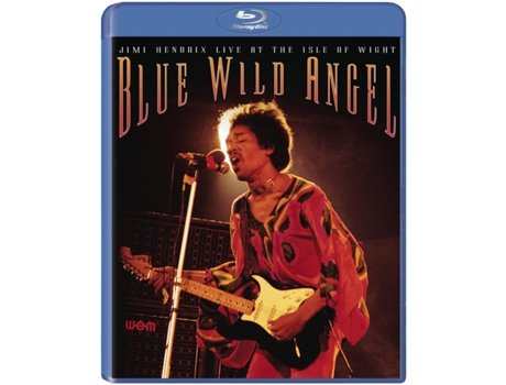 Blu Ray Jimi Hendrix - Blue Wild Angel — Pop-Rock Internacional