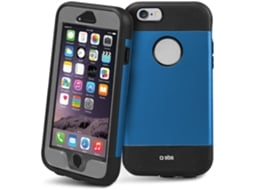 Capa e Película SBS Shockproof Work iPhone 6, 6s Azul — Compatibilidade: iPhone 6, 6s