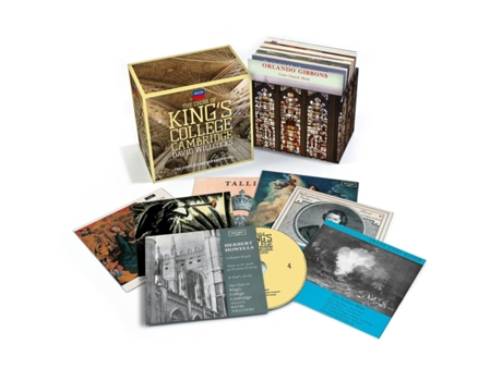 CD The Choir of King's College Cambridge - The Complete Argo Recordings — Clássica