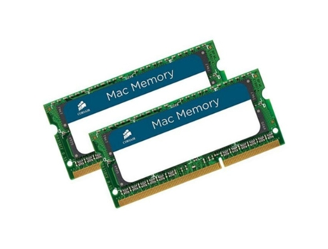 Memória RAM SODIMM CORSAIR DDR3 2X4GB 1333 MHz Apple Qualified — 2 x 4 GB / 1333 MHz / DDR3