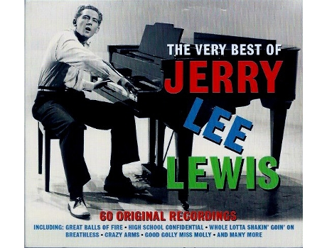 CD Jerry Lee Lewis - The Very Best Of Jerry Lee Lewis