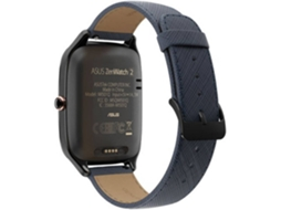 Smarwatch ASUS Zenwatch 2 Gun Metal Leather — Android / Bluetooth 4.1 e Wi-Fi / 380 mAh