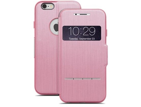 Capa MOSHI Sense Cover iPhone 6, 6s Rosa — Compatibilidade: iPhone 6, 6s