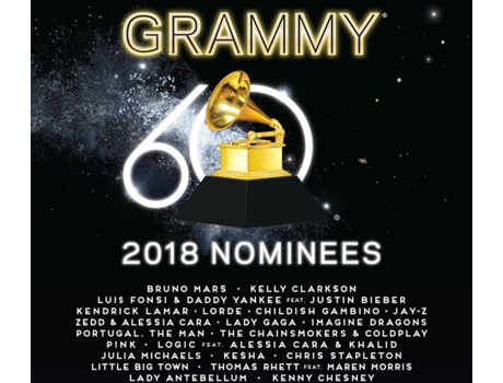 CD Vários - Grammy 2018 Nominees — Pop-Rock