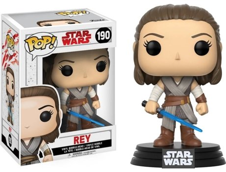 Figura Vinil FUNKO POP! Star Wars Episode 8: Rey — Star Wars