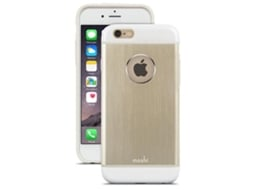 Capa MOSHI iGlaze Armour iPhone 6, 6s Dourado — Compatibilidade: iPhone 6, 6s