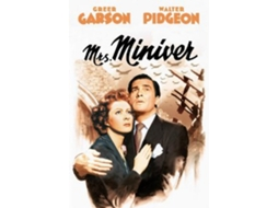 DVD Mrs Miniver (Essenciais) — De: William Wyler | Com: Greer Garson, Walter Pidgeon, Teresa Wright