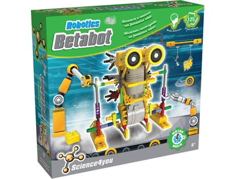 Kit SCIENCE4YOU Robotics Betabot — Idade mínima recomendada: 12