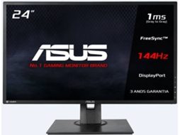 Monitor Gaming ASUS MG248QE (24'' - 1 ms - 144 Hz - AMD FreeSync) — LED | Resolução: 1920 x 1080