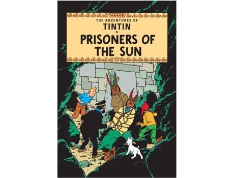 Marca do fabricante - Livro Prisoners Of The Sun de Hergé