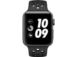 APPLE Watch Nike+ GPS 42 mm Cinza, Preto — Bluetooth 4.2 e Wi-fi | 279 mAh | iOS