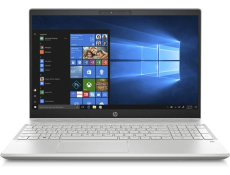 Portátil 15,6'' HP Pavilion 15-cs0013np — Intel Core i7-8550U | 12 GB | 256 GB SSD | NVIDIA GeForce MX150