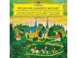 Vinil Wolfgang Amadeus Mozart - Quintet for Clarinet and Strings — Clássica