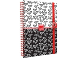 Caderno A6 Com Elástico MAKE NOTES Chicks — Caderno A6