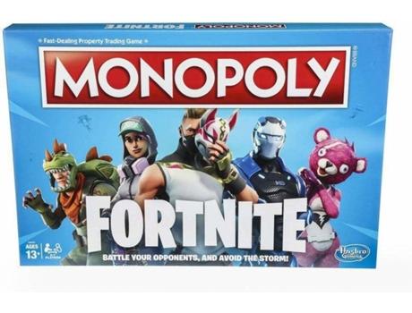 Jogo De Tabuleiro Monopoly Fortnite Idade Minima 13