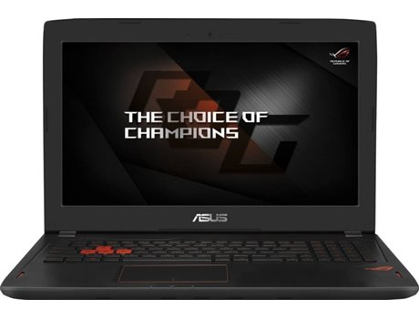 Portátil Gaming ASUS GL502VS-77A07PB1 — Intel Core i7-7700HQ / 16 GB / 1 TB + 256 GB
